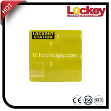 LOCKEY Combination 10 Locks Lockout Station